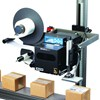 Gold Seal GS-60 printer label applicator with conveyor