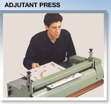 Gluefast adjutant press machine