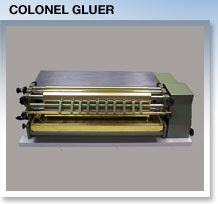 Gluefast colonel gluer glue machine for sale
