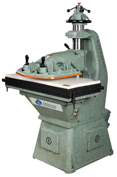 clicker press die cutting machine